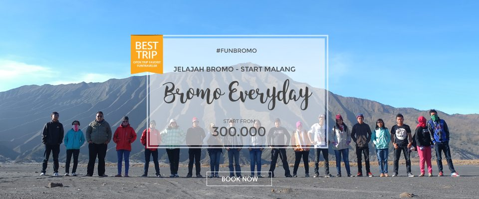 tour bromo everyday